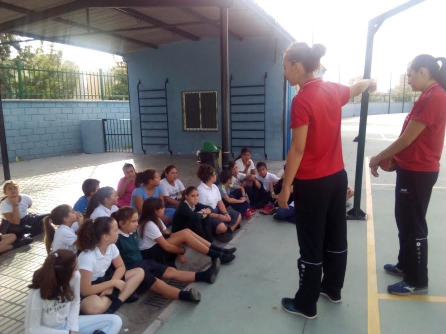El Rincón Fertilidad Málaga visita el Colegio Manolo Garvayo
