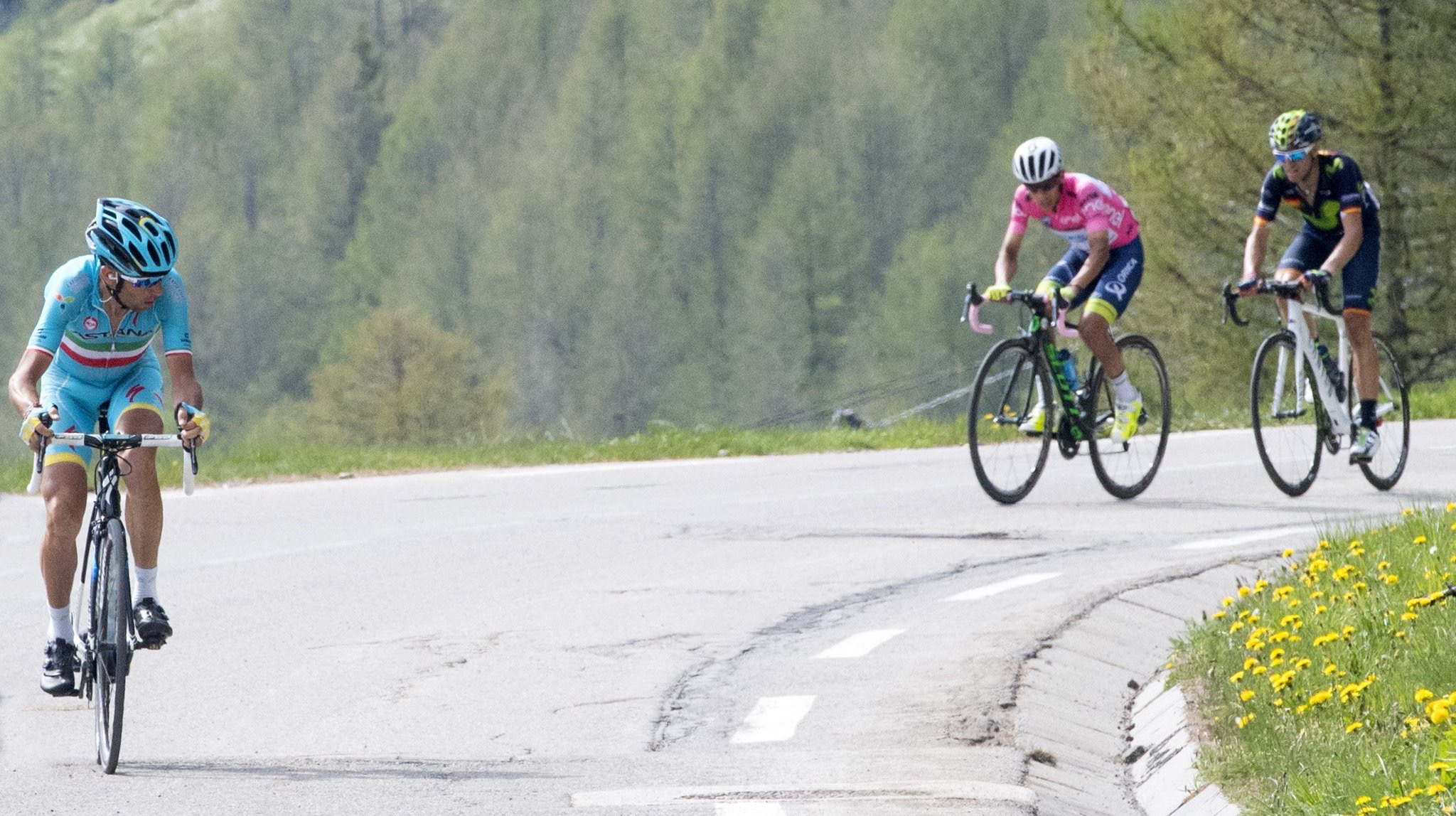 ¿Quiénes dominarán en el Giro?