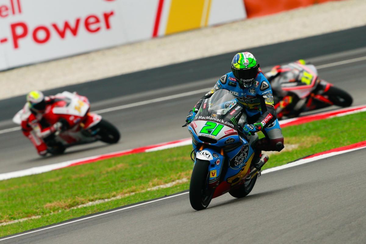 Resultados de la jornada de Moto2 en Malasia